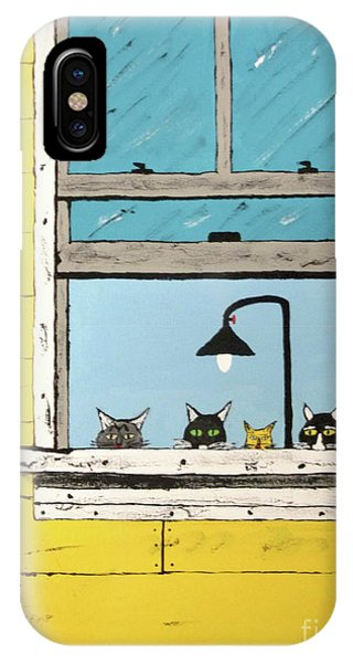 Cats Daydreaming IPhone Case