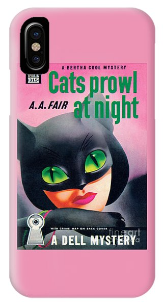 Cats Prowl At Night IPhone Case