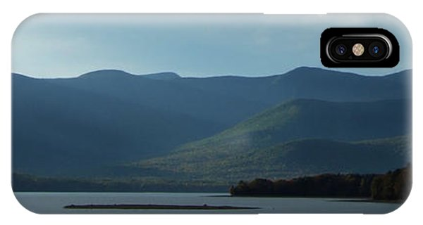 Catskill Mountains Panorama Photograph IPhone Case