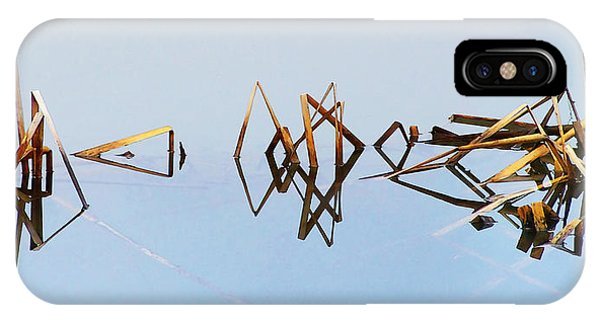Cattail Reflections IPhone Case