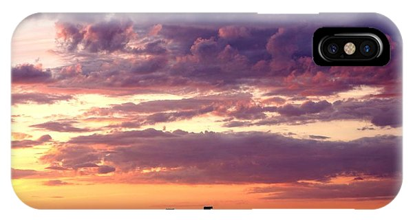 Cattle Ridge Sunset IPhone Case