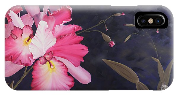 Cattleya IPhone Case