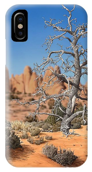 Caught In Your Dying Arms IPhone Case