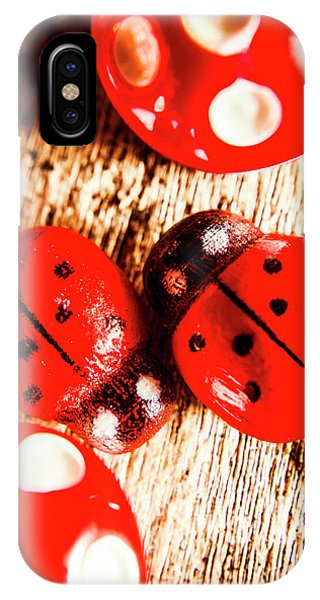 Ladybug iPhone Case - Caught The Love Bug by Jorgo Photography - Wall Art Gallery
