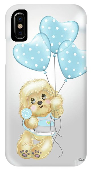 Cavapoo Toby Baby IPhone Case