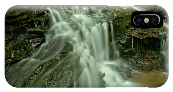 Somerset County iPhone Case - Cave Falls by Adam Jewell