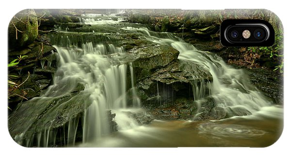 Somerset County iPhone Case - Cave Falls At Cole Run by Adam Jewell