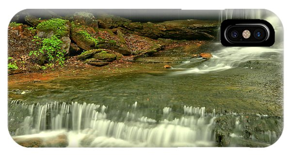 Somerset County iPhone Case - Cave Falls Cascades by Adam Jewell