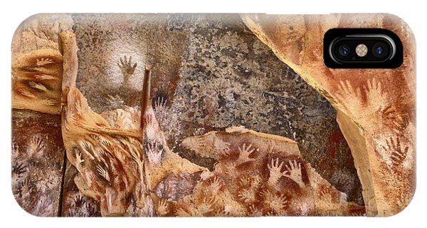 Cave Of The Hands Patagonia Argentina IPhone Case