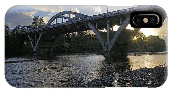Caveman Bridge At Sunset IPhone Case