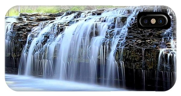 Cedar Creek Falls, Kansas IPhone Case
