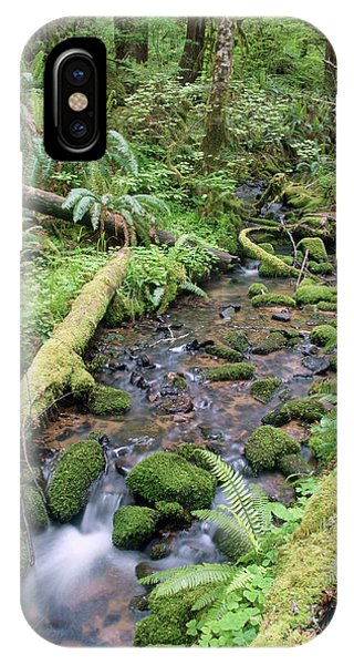 IPhone Case featuring the photograph Cedar Creek Near Cottage Grove Lake #2 by Ben Upham III