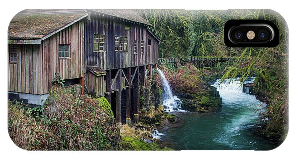 Cedar Grist Mill IPhone Case