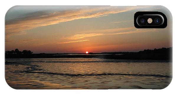 Cedar Key Sunset 1 IPhone Case