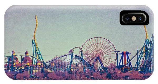 Cedar Point Skyline IPhone Case