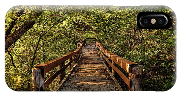 Cedar Ridge Trail IPhone Case