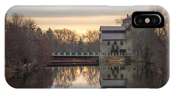 Cedarburg Mill IPhone Case