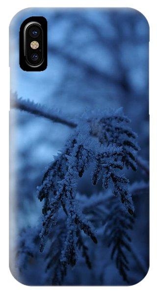 Cedars Of Ice II IPhone Case