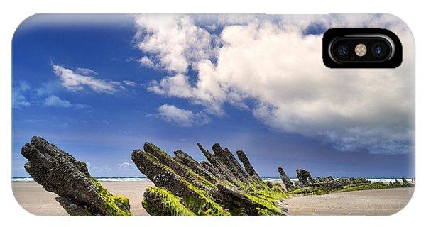 Cefn Sidan Beach 3 IPhone Case