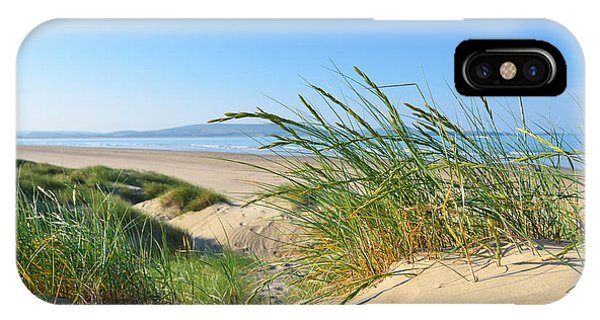 Cefn Sidan Beach 4 IPhone Case
