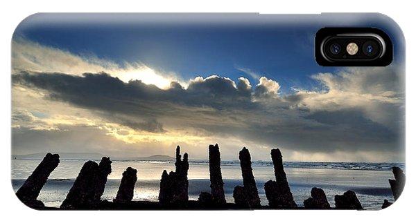Cefn Sidan Beach 5 IPhone Case