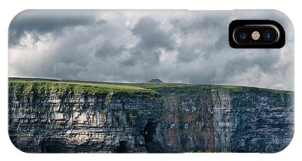 Ceide Cliffs IPhone Case