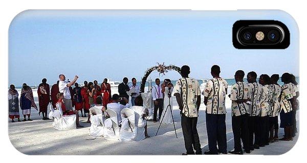 Celebrate Marriage In Kenya IPhone Case