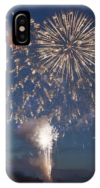 July 4 iPhone Case - Celebrating As One Friday Harbor by Betsy Knapp
