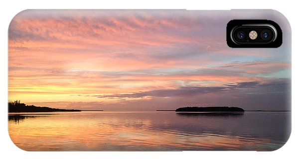 Celebrating Sunset In Key Largo IPhone Case