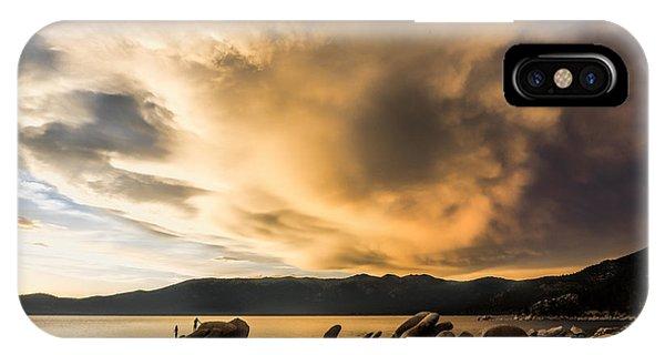 Celebrating Sunset IPhone Case