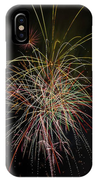 Fireworks iPhone Case - Celebrating The 4th by Garry Gay