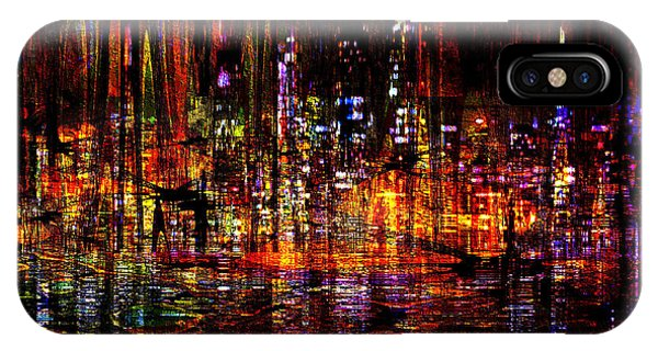Celebration In The City IPhone Case