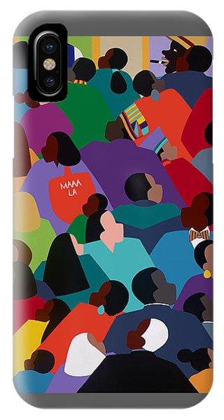 iPhone Case - Celebration Maaa-la by Synthia SAINT JAMES