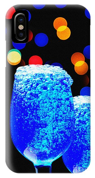 Celebrations With Blue Lagon IPhone Case