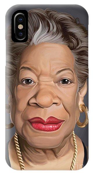 Celebrity Sunday - Maya Angelou IPhone Case