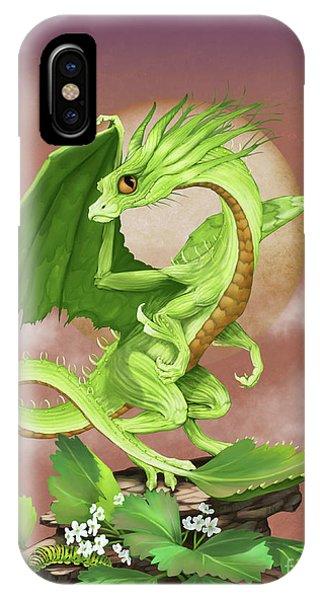 Celery Dragon IPhone Case