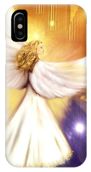 Celestial Angel IPhone Case