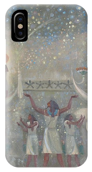 Celestial Cow IPhone Case