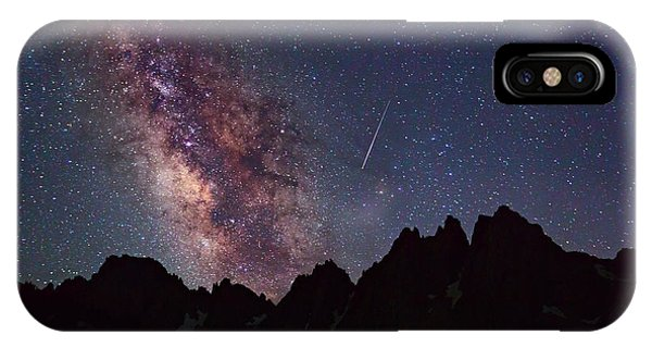 Kings Canyon iPhone Case - Celestial Event by Brian Knott Photography