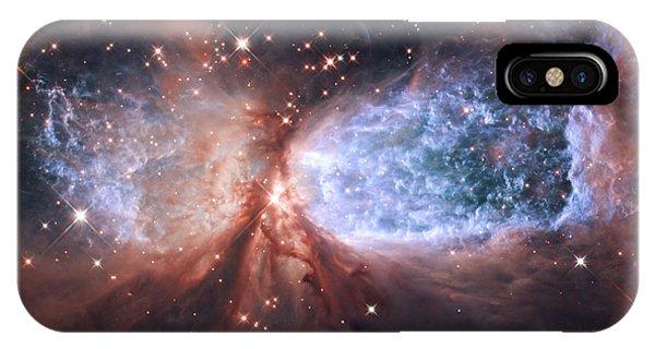 Celestial Snow Angel IPhone Case