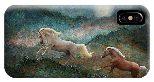 Celestial Stallions IPhone Case