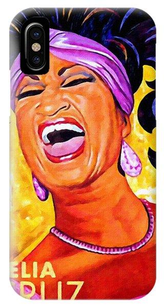 Celia Cruz IPhone Case