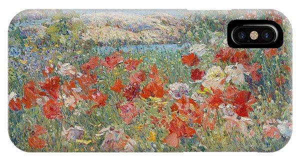 Celia Thaxter's Garden, Isles Of Shoals, Maine IPhone Case