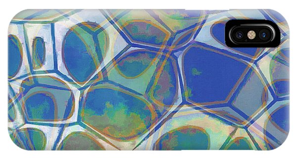 Fineart iPhone Case - Cell Abstract 13 by Edward Fielding