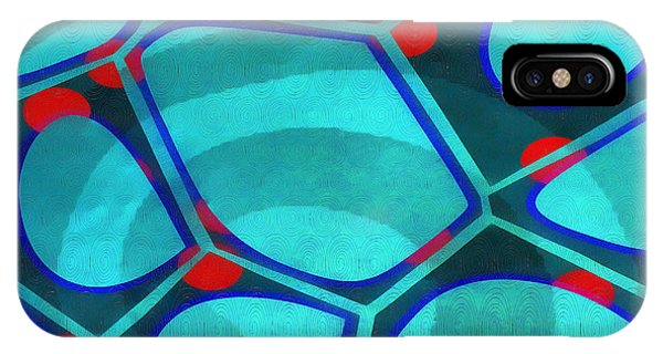 Fineart iPhone Case - Cell Abstract 6a by Edward Fielding