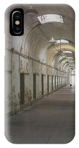Cellblock Hallway IPhone Case