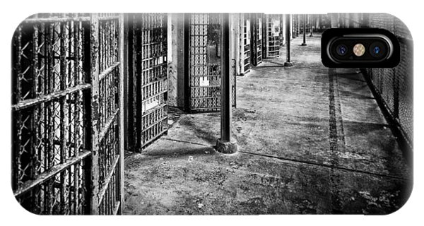 Abandon iPhone Case - Cellblock No. 9 by Tom Mc Nemar