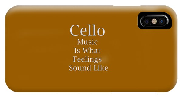 Cello Is What Feelings Sound Like 5592.02 IPhone Case