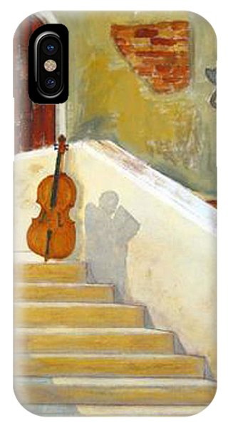 Cello No 3 IPhone Case