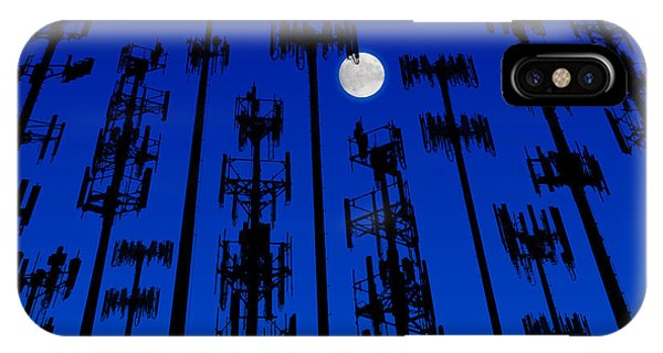 Cellphone Tower Forrest IPhone Case